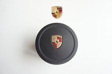 PORSCHE 958 CAYENNE tableau de bord Airbag Panneau Carénage Volant en cuir