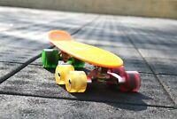 (Set of 2) SI Tandem Axle Wheel Kit Double Wheel Set for Skateboard Longboard