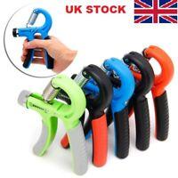 10 - 40KG Adjustable Sport Gym Hand Gripper Grip Strengthener Exerciser Wrist LO