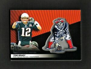 Tom Brady 2010 Topps New England Patriots Throwback Patch LPC-37