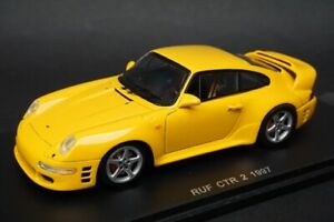 1:43 Spark S0705 RUF CTR 2 Yellow 1997 model car