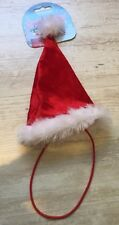 NEW Cupid & Comet Dress Up For Dogs Christmas Santa Hat