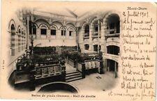 CPA  Mont- Dore - Bains de pieds (Dames) - Hall de droite   (220468)