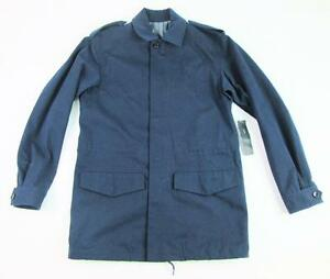 MARC JACOBS MENS M2111501 NAVY INK BLUE L/S WINTER COAT FIELD JACKET SM NWT $598