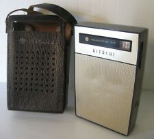 hitachi tranistor six th-611 radio portatile anni 60, vintage