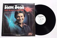 STEVE BOALT God Really Loves You LP Singcord ZLP-972 US VG++ SIGNED COVER 4F