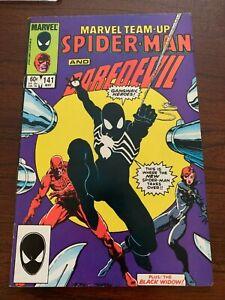 Marvel Team-Up #141 (May 1984, Marvel) Spider-Man Black Suit! FN+/VF- ~7.0