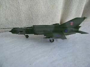model airplane- 1/72- Mig 21- Croatian Air Force