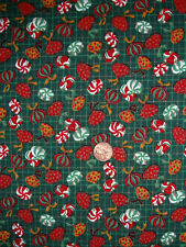 CHRISTMAS CANDY PIECES FABRIC   CONCORD HOUSE         ONE YARD