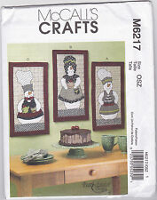 Mccall`s  Mini Snowpeople Quilts  Sewing Pattern 6217