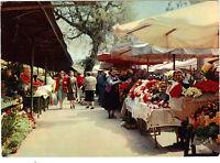 06 - Cpsm - Nizza - Le Marché nach Blüten