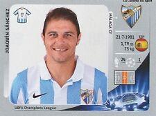 N°223 JOAQUIN SANCHEZ # ESPANA MALAGA.CF CHAMPIONS LEAGUE 2013 STICKER PANINI