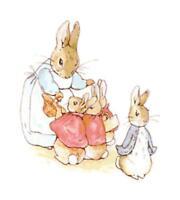 Beatrix Potter Peter Rabbit Book DIGITAL Counted Cross-Stitch Pattern Chart