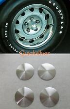 1970 71 Plymouth Rallye Wheel Correct Satin Center Cap NEW MoPar set of 4