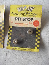 Vintage 1960s 1/25 Aurora K&B Bearing Blocks Brass #1105 Mip