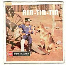 GAF vintage RIN TIN TIN view master reel set Dutch foreign German Shepherd RARE!