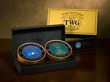 TWG Tea Singapore - Sweetheart Tea Set - 2 x 3.5oz / 100gr Loose leaf Caviar Tin