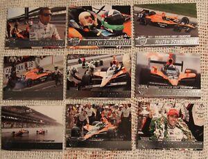 2007 Rittenhouse IRL Road to Victory insert set - Dario Franchitti cards bv $27