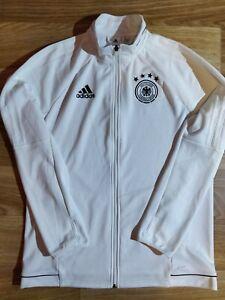 Adidas Germany 2016 National Team Track Jacket Football Soccer Sweatshirt White