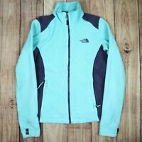 Womens Vintage The North Face Fleece Jacket Blue Size XS
