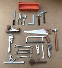 Lot Assorted Vintage Miniature Toy Hand Tools MARX & IDEAL