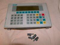 Siemens 6AV3515-1MA30 Operator panel OP15-C1 USED