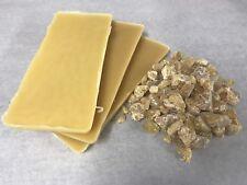 300 Gram Beeswax & 150 Gram Pine Resin Chunks, Colophony Gum Rosin Combo Pack