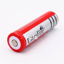 UltraFire 18650 3.7V 6800mAh Li-ion Rechargeable Battery for LED Flashlight Red