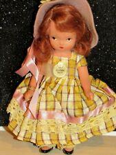 Vintage Bisque Nancy Ann Storybook Doll School Days #117 w/tag lovely doll