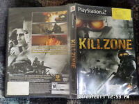 Killzone (Sony PlayStation 2, 2004) w/ Case