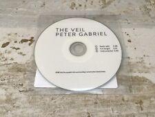 PETER GABRIEL  THE VEIL NEW 3 TRACK UK CD PROMO 2016  Genesis