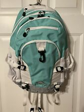 HIGH SIERRA $98 Mint Green Backpack UNISEX BAG WATER REPELLENT FABRIC