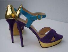 Siren Leather Clubwear Stiletto Heels for Women