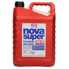 Liqui Moly Motoren-Öl NOVA SUPER 15W-40 5000 ml