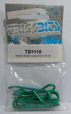 TB1112 Trickbits Coche Parte De Repuesto Verde Metálico Grande Clips Cuerpo (8)