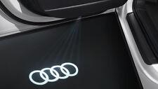 Neu Original Audi Einstiegs-LED Audi Ringe, Einstiegsbeleuchtung 4G0052133G Tür