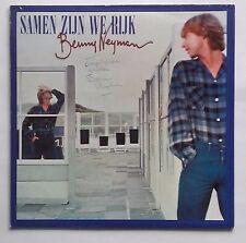 LP Benny Neyman – Samen Zijn We Rijk Nm Vinyl 1978 Met Handtekening
