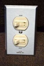 NuTone HEAT VENT Electrical TOGGLE Duplex SWITCH HS-91S NEW Amazing!