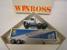 Winross Carlos Leffler 1989 3rd Ed Rotella T Shell Tractor Trailer Diecast MIB