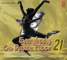 EVERYBODY ON DANCE FLOOR 21 - 2 CD BOLLYWOOD REMIX SET
