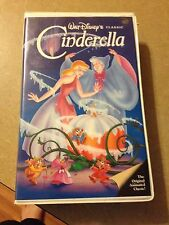 Cinderella - Walt Disney - (VHS)The Classics Black Diamond Collection