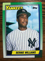 1990 Topps Bernie Williams Baseball Card #701 Rookie Card RC NY Yankees NM/MINT