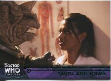 Doctor Who Timeless Green Parallel Base Card #55 Smith and Jones