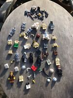 lego star wars minifigures job lot Bundle Rare Vintage Spares Weapons