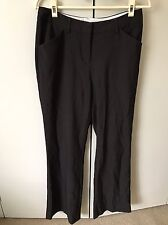 Basque Women's Pants SiZe 10 Brown Work Office