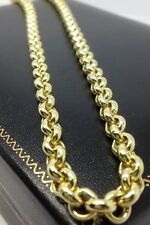 Brand new HEAVY Solid 9ct Gold Belcher Chain- 28inch 57g Uk Hallmark RRP £2565