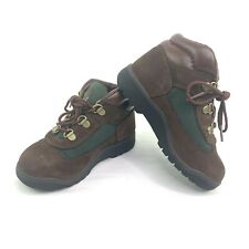 Timberland Baby Toddlers Size 11 Brown/Olive Green Field Boots 16837M