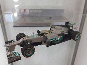 Minichamps 1/43 Mercedes W03 Nico Rosberg 2012