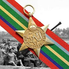 WW2 Pacific Star Full Size (Replica) Unmounted + 250mm ribbon