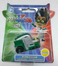 PJMASKS PYJAMASQUES VOITURE METAL ROMEO'S LAB LABO DE ROMEO VERSION GLOSS